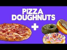 Pizza Doughnuts - Food Mashups - YouTube