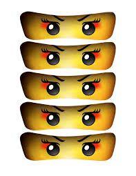 Resultado de imagem para ninjago eyes free printables