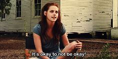 When she said what we all need to hear sometimes… | 25 Times Kristen Stewart Was Real As F**k