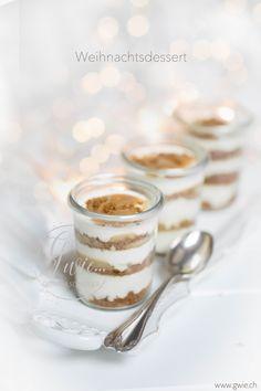 weihnachtsdessert, spekulatius trifle, trifle, www.gwie.ch