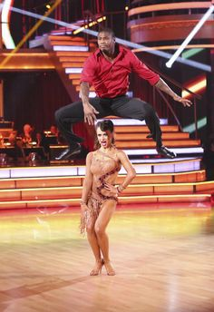 Karina Smirnoff & Jacoby Jones  -  Dancing With the Stars  -  season 16  -  week 7  -  spring 2013  -  placed 3rd for the season