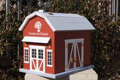 Barn Wedding Card Box Made to Order. $189.00, via Etsy.