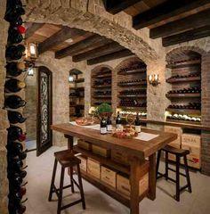 ma cave à vin et meuble pour petit espace