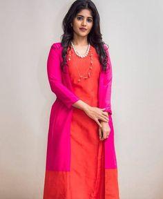 South Indian Actress, Beautiful Indian Actress, Megha Akash, Indian Bridal Sarees, Cotton Salwar Kameez, Cute Girl Dresses, Beauty Full Girl, Saree Styles, Indian Wear