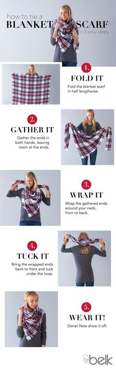 Blanket scarves are a must this winter!!