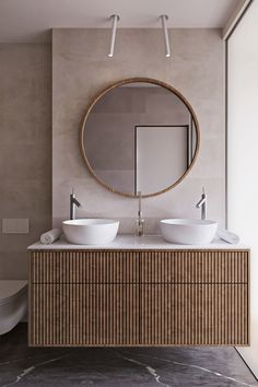 Grey And Blue Interior Design: 3 Gorgeous Decor Schemes Bad Inspiration, Bathroom Inspiration, Bathroom Ideas, Bathroom Grey, Bathroom Wallpaper, Bathroom Organization, Bathroom Storage, Bathroom Design Luxury, Modern Bathroom Design