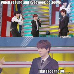 Kyuhyun's reaction....   allkpop Meme Center