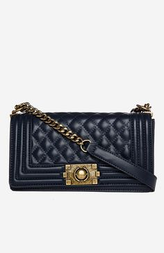 Chanel quilted boy bag inspired purses under $100