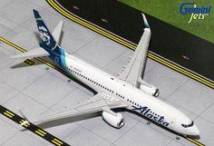 1/200 GeminiJets Alaska Airlines Boeing 737-800s Diecast Model