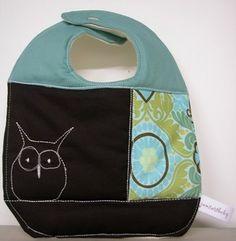 Owl bib!!  so cute