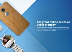 Motorola Announces Cyber Monday Deals - Motorola has announced some new deals for Cyber Monday on a number of its devices, the deals will be available from Monday the 30th of November.   Geeky Gadgets
