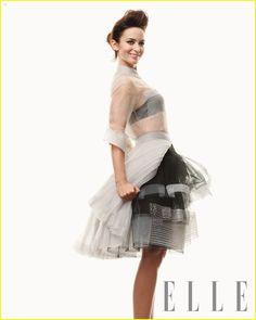 Emily Blunt For Elle UK May 2012 vía @JustJared