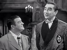 """""""Abbott & Costello meet Frankenstein"""" (1948) - Bela Lugosi playing Dracula for the second & last time..."""