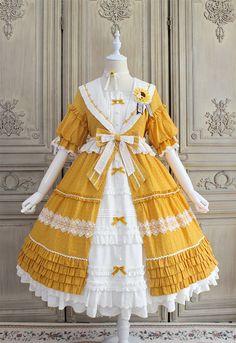 Kawaii Fashion, Lolita Fashion, Cute Fashion, Emo Fashion, Gothic Fashion, Dress For You, The Dress, Pretty Outfits, Pretty Dresses
