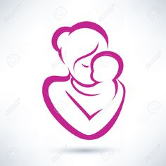 mom and baby clipart - Google Search