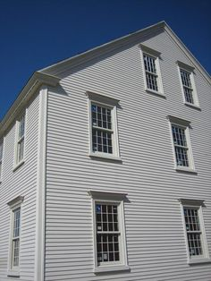 Exterior Millwork Created And Provided By Clic Colonial Homes Siding