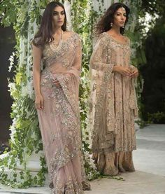 Latest Pakistani Bridal Sarees For Weddings in 2020 Pakistani Wedding Outfits, Pakistani Bridal, Saree Wedding, Pakistani Dresses, Indian Sarees, Indian Dresses, Bridal Sarees, Hot Girls, Designer Sarees Wedding