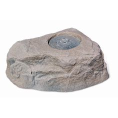 112 in. Small Plastic Brown/Black Waterfeature Rock