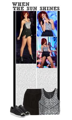 """""""#1 (Rihanna)"""" by lauren1993 ❤ liked on Polyvore featuring W118 by Walter Baker and adidas Originals"""
