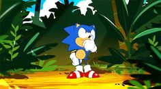 Sonic Mania Adventures gif Sonic And Amy, Sonic And Shadow, Sonic The Hedgehog, Dragon Ball, Classic Sonic, Sonic Mania, Pokemon, Sonic Franchise, Sonic Adventure