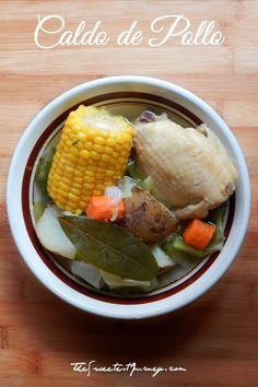 Caldo de Pollo Recipe | How to Make Traditional Mexican Chicken Soup