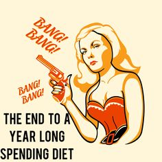 The End to a Year Long Spending Diet - Melanie's Report - And Then We Saved