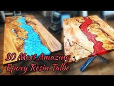 10 MOST Amazing Epoxy Resin Table! Awesome Woodworking Projects and Ideas MUST WATCH! - YouTube