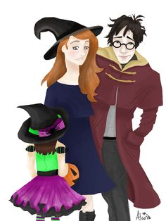 Harry Potter and Ginny- By Alaina Blankenship