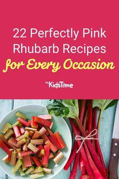 22 Perfectly Pink Rhubarb Recipes for Every Occasion – Mykidstime Rhubarb Crumble Cake, Rhubarb Scones, Rhubarb Custard Pies, Strawberry Rhubarb Crumble, Rhubarb Tart, Rhubarb Recipes, Recipes From Heaven, Sweet Treats