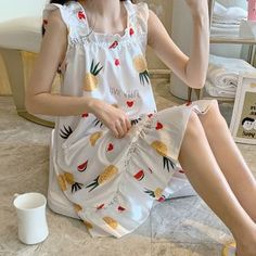 A Line Prom Dresses, Begonia, Nightwear, Ulzzang, Vogue, My Style, Prints, How To Wear, Outfits