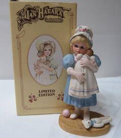 Jan Hagara Amy Limited Edition #390 Vintage Porcelain Figurine w/Box picclick.com