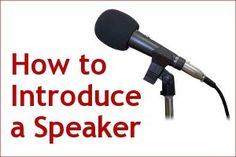 How to Introduce a Speaker: 16 Essential Tips for Success, by @Andrew Dlugan