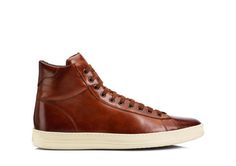 Russel Leather High Top Sneaker by Tom Ford High Top Tennis Shoes, High Top Sneakers, Tom Ford, Men's Shoes, Shoe Boots, Ankle Boots, Balenciaga, Toms, Baskets