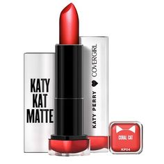 COVERGIRL Katy Kat Matte Lipstick in Coral Cat