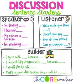 Discussion Strategies and Accountable Talk in the Classroom
