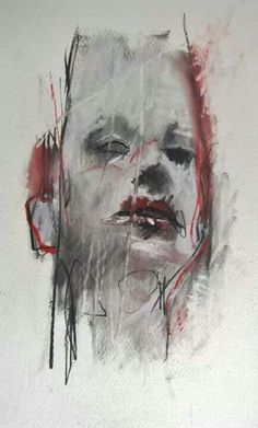 Guy Denning is a self taught English contemporary artist and painter based in France. He is also one of the most important painters on the Urban Art scene. Abstract Portrait, Portrait Art, Abstract Art, Gcse Art, Vincent Van Gogh, Figure Drawing, Urban Art, Art School, Contemporary Artists