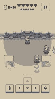 Into the Dim - Retro Turn-Based RPG on Behance