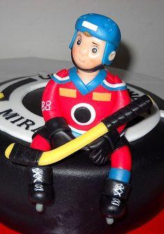 hockey player.