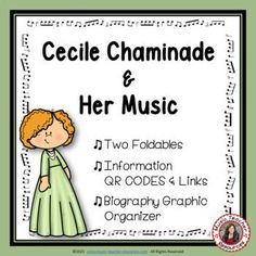 Introduce your young music students to female composer Cecile Chaminade and her music. This is an excellent addition to your Listening lessons! This resource contains: - TWO different FOLDABLES in BOTH COLOR AND B/W. - This foldable is a perfect accompaniment to foldable 1, or can be used on its own to respond to Cecile Chaminade's music during a listening lesson #mtr #musicteacher #musiced #musiceducation #musicteacherresources
