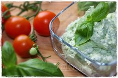 basilicumcrème in thermomix Pesto Dip, Dips, A Food, Vegetables, Spreads, Organization, Passion, Nature, Sauces