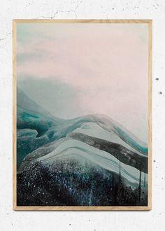 Plakat af Antarctica fra Sissan Richardt
