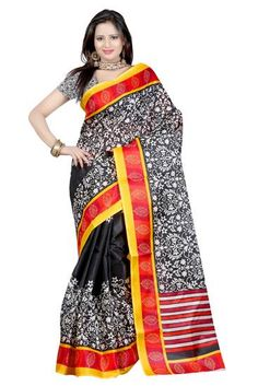 Sagun Bhagalpuri Silk Sarees Colour-Multi - Sagun Fashion Sarees for indian woman