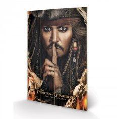 Panneau en Bois Pirates of the Caribbean Can you Keep a Secret