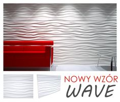 New decorative panels inspired by the waves of the sea - WAVE