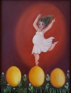 danse sur un œuf  2003  (site dominiqueeustase.com)