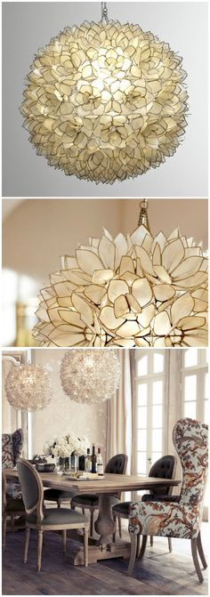 diy real capiz shell chandelier metal accents lamp shades uk