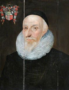 """Portrait of an Old Man, Identified as Sir Henry Savile Provost of Eton"", circle of Marcus Gheeraerts the younger, ca. Tudor History, Historical Art, Family Crest, Art Uk, Renaissance Art, Old Men, Male Face, The Past, Male Portraits"