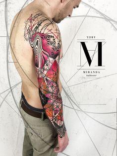 ABEL MIRANDA TATTOO Follow all his amazing work on INSTAGRAM --> @abelmiranda_tattoo Ask for your tattoo appointment at abelmirandatattoo@gmail.com #avantgardetattoocollective #AbelMirandaTattoo #AvantgardMiranda #art #abstract #avantgarde #tattoo #tattoos #nature #geometric #sacredgeometry #psychedelic #dotwork #trash #mandala #barcelonatattoo #geometrictattoos