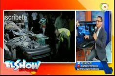 Graynmer Mendez habla sobre el aparatoso accidente de la Ave. Del Puerto en El Show del Mediodía
