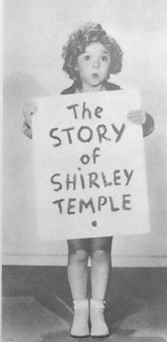 Shirley Temple, The STORY of SHIRLEY TEMPLE,1934.